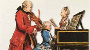 Familie Mozart im Oktober 1763 in Brühl und in Cölln