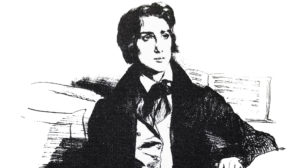 Franz Liszt im August 1832 in Paris
